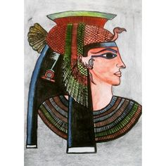 Cleopatra!! First water color painting:D