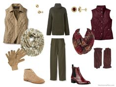 Choosing an Accent Color for Olive Green in your capsule wardrobe