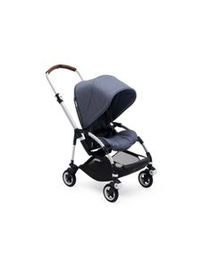 Specially designed for urban adventures with your newborn or toddler, the Bugaboo® complete pushchair in blue melange is light and compact. canopy, handlebar grips and wheel cap options (all sold separately). Adjustable seat Adjust the seat's he Toddler Stroller, Baby Strollers, Bugaboo Bee 5, Best Lightweight Stroller, Sun Canopy, Baby Grows, City Style, Black Faux Leather, 1 Piece