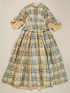 """Only information with this was """"Dress 1850, American."""" Typical mid-'50s style."""