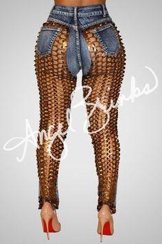 Sinister Jeans (Bronzed)