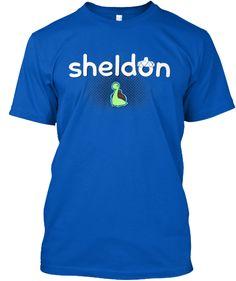 Sheldon the Tiny Dinosaurs Shirt of Cute