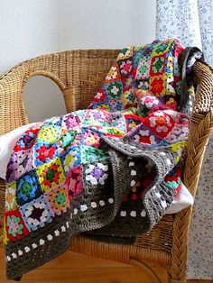 Ravelry: Gypsy Blanket pattern by Annette MB Ciccarelli