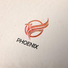 Phoenix Bird Logo Template Templates Phoenix Bird Logo Template is simple and modern Logo Template for different kind Company like Bird S by Raj Shop Creative Logo, Creative Sketches, Tattoo Illustration, Pencil Illustration, Phoenix Images, Bird Tattoo Wrist, Bird Logos, Phoenix Bird, Bird Silhouette
