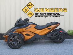 Can Am Spyder RS-S Motorcycles for sale at Wengers of Myerstown Bikes For Sale, Motorcycles For Sale, Can Am Spyder, Tractor Parts, Tractors, Vehicles, Choppers For Sale, Car, Vehicle