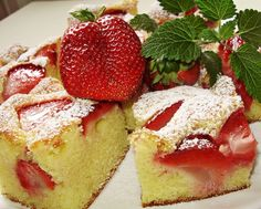 Cookie Recipes, Dessert Recipes, Czech Recipes, Food Dishes, Sweet Tooth, Cheesecake, Deserts, Food And Drink, Yummy Food