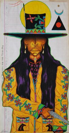 Terrance Guardipee ledger art pixels n. Native American Paintings, Native American Artists, Native American Indians, Indian Paintings, Southwest Art, American Indian Art, Indigenous Art, Aboriginal Art, Native Art