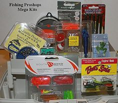 Fishing: Plano Single Tray Tackle Box - W Mega 230 Piece Tackle Kits Included    -- See this great product.