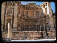 La Ciudad Romana De Jerash -