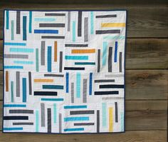 Old School Library quilt. I don't usually pin just photos of quilts but this one I had to
