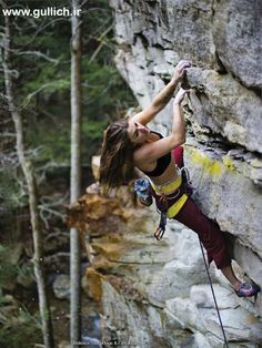 Wolfgang Gullich Team - Women Rock Climbing