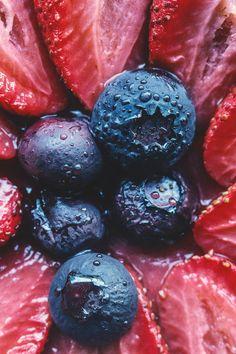 Summer Berry Galette by @HonestlyYUM honestlyyum.com