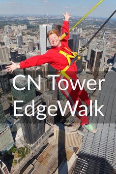 The CN Tower Edgewalk, may be the highest hands-free circular skywalk in the world, but it's more than just a walk; It's Toronto's most extreme attraction!