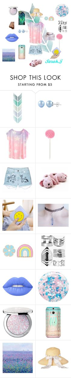 """Untitled #5"" by sarahjavorova on Polyvore featuring Aloha From Deer, Big Bud Press, Boohoo, Lime Crime, Nails Inc., Guerlain, Casetify and Barbour"
