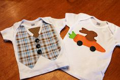 Easy diy Easter shirts.  Find out how here.