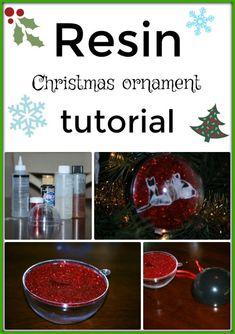 New Ideas For Resin Art Diy Christmas Ornament Christmas Ornament Template, Photo Christmas Ornaments, Christmas Love, Christmas Photos, Christmas Ideas, Diy Ornaments, Christmas Things, Christmas Jewelry, Christmas Decorations