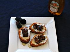 #Fig and Goat Cheese #Crostini #Appetizer