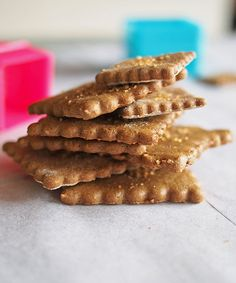 Graham Crackers with Buckwheat Flour   the Worktop