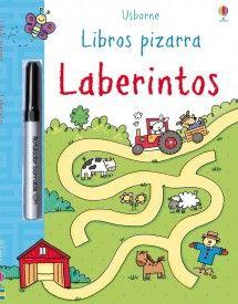 Libros Pizarra Usborne - Laberintos (portada)