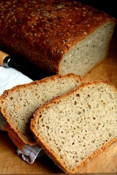Trufla: Niemiecki chleb żytnio-pszenny. Weekendowa Piekarnia # 27 Bread Recipes, Cake Recipes, My Favorite Food, Favorite Recipes, Pan Bread, Polish Recipes, Bread Rolls, Food Design, Food To Make