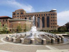 Purdue University  Campus   ... Purdue Photos Picture - LOEB Fountain and Beering Hall - Purdue Campus