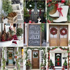 20 Beautiful Christmas Porch Ideas {DIY Christmas Decorating}