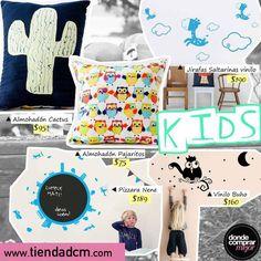 ¡Deco para los más chicos! ¡Ingresá en la sección DECO de www.tiendadcm.com y llevate todo!