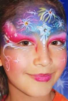 Fireworks tutorial #facepaint