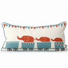 Tiny train cushion