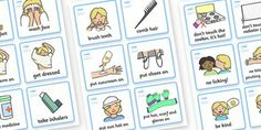 SEN Communication Cards Daily Routine (Girl) - SEN, communication cards, daily routine, my environment, Visual Timetable, SEN, Daily Timetable, girls, School Day, Daily Activities, Daily Routine KS1