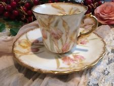 Aynsley small demitasse cup saucer vintage China high tea party bone teaset