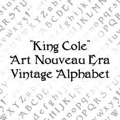 Cursive Letters, Uppercase And Lowercase Letters, Vector Clipart, Vector File, Alphabet, Ttf Fonts, Quotation Marks, King Cole, Antique Books