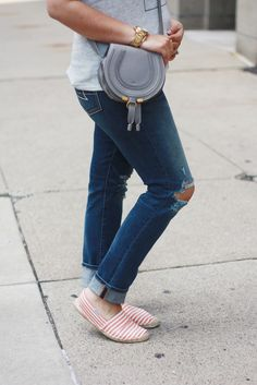 Ninesto5: Ripped Jeans + Soludos Espadrilles