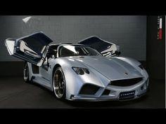 2013 Mazzanti Evantra V8 Unveilled First Official Photos HD
