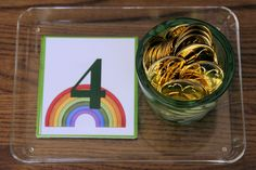Free St. Patrick's Day Printables and Montessori-Inspired St. Patrick's Day Math Activities