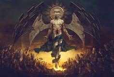 Blood of Redemption, Carlos Quevedo on ArtStation at https://www.artstation.com/artwork/lyGbJ