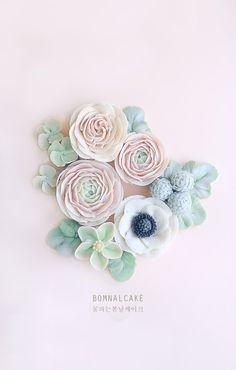 [꽃피는봄날] Flowercake, sample : 네이버 블로그