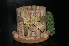 Wine to hold your wine! Love it!!! And it goes with the cork coasters too!!!