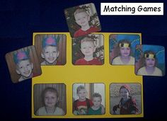 Photo Fun ... children love looking at photographs of themselves.  Using photos in an early learning environment can help build self-esteem and a sense of community. Here are three activities you can do with children's photos.