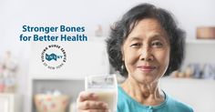 Getting enough calcium is critical as we age. #DairyMonth