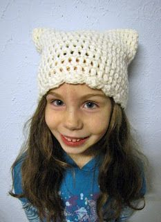 """Free pattern for """"The Kitty Cap""""!"""