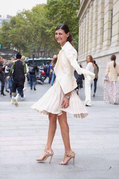 Street style Wedding Inspiration by fashion editor Giovanna Battaglia: http://swarovs.ki/streetstyle Photography by Lena Jürgensen #crystalwedding