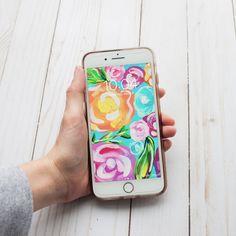 Spring Floral Phone Wallpaper