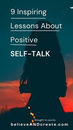 When you choose to elevate the quality of your self-talk, you choose to elevate the quality of your life. That's how important positive self-talk is. Learn 9 lessons about positive self-talk that you'll never forget. #self-talktips #positivity #bekindtoyourself #lovingselftalk #nurturingselftalk #self-love #self-compassion #self-awareness #speakkindly #selftalkhabits #selftalktips Positive Self Talk, Negative Self Talk, Negative Thoughts, Positive Vibes, Self Development, Personal Development, Back In The Game, Confidence Tips, Love Post