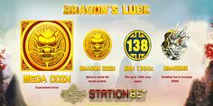 Dragon's Luck is a very carefully designed slot with Chinese theme and symbols drawn by experts of the trade. 7th Dragon, Online Casino Reviews, Symbol Drawing, Chinese Theme, Slot, Symbols, Joker Online, Games, Dragons