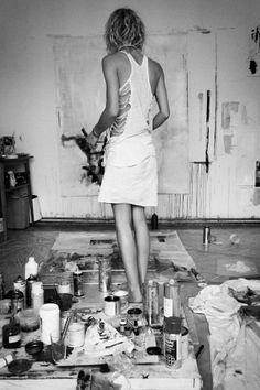 paint studio, a big dream