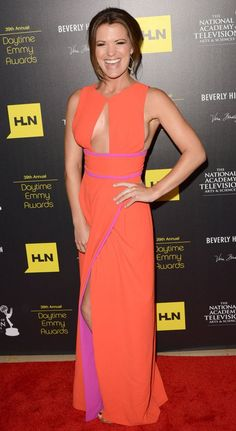 Melissa Claire Egan arrives at The 39th Annual Daytime Emmy Awards held at The Beverly Hilton Hotel on June 23, 2012 in Beverly Hills, California.