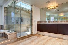 Cantoni-Riviera Style contemporary-bathroom❤The Big Shower.