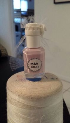 Nail polish bride