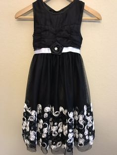 Clothing, Shoes & Accessories Vintage Jolene White Dressy Dress 4t A Great Variety Of Goods